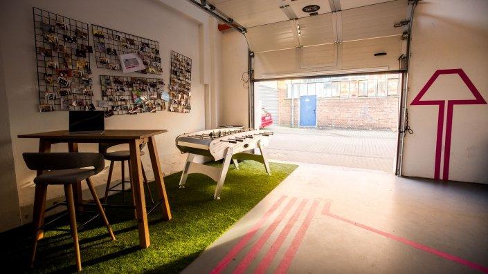Eisenwerk 15/2 - Eventlocation und Coworking in Hannover - Coworkingspace