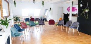 Seminarraum und Teambuilding