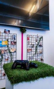Kreativer Seminarraum in Hannover - Eine Partie Playstation zur Mittagspause
